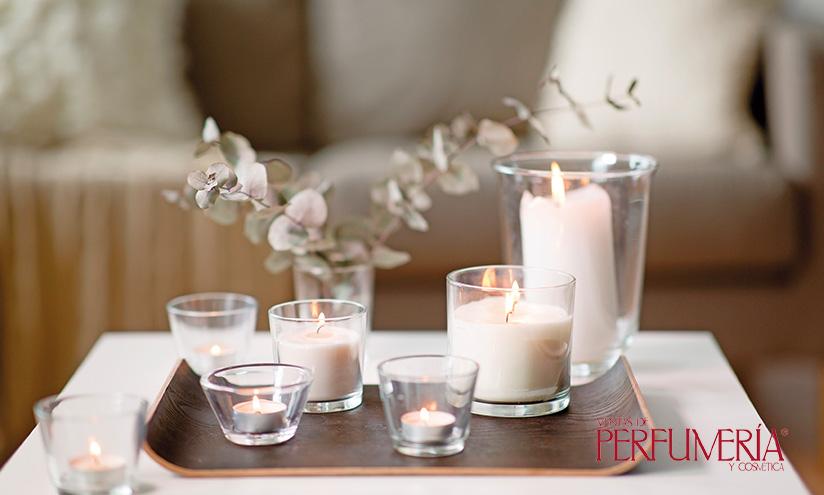 Aromas para el hogar. Velas