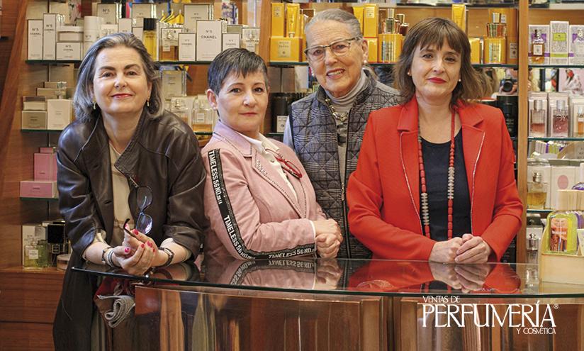 El equipo de Perfumería Ibarrondo