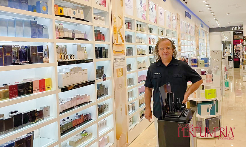 Alfredo Prieto Moreno, gerente de Perfumería Prieto