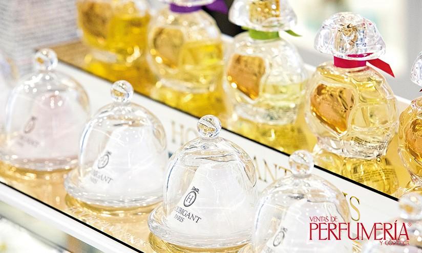 Detalle Perfumería Urbieta en Donostia